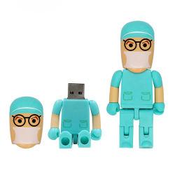 Azionamento dell'istantaneo del bastone del USB del USB 2.0 dell'azionamento 64GB 32GB 16GB 8GB Pendrive della penna dell'azionamento dell'istantaneo del USB di alta qualità del dottore Nurse Model
