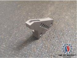 Kundenspezifisches materielles maschinell bearbeitenteil-Ersatzteil der CNC-Teil-Draht-Führungs-D2