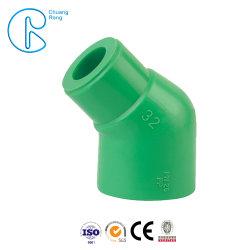 PPR Coude égal le coude de 45 degrés pour l'eau chaude