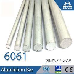 T6 Staaf van de Staaf van Aluminium 6061 6063 6082 de Staaf Uitgedreven Stevige Ronde