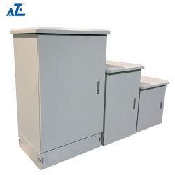 Telecommunicatie van het Kabinet van de Batterij van de douane 19inch 24u de Openlucht maken het Kabinet van het Metaal IP45 IP55 waterdicht