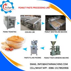 100-200кг/ч арахисовое масло вставить производственной линии машины для продажи