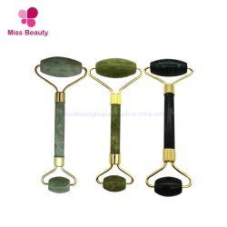 Anti-Veroudert GezichtsRol van uitstekende kwaliteit van de Jade Massager de Groene Aventurine