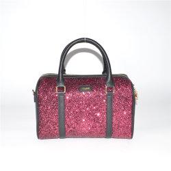 نمط سيدة [بغ] بوسطن طرق حقائب [سقوين] [إفنينغ بغ] مع تلألؤ أماميّ