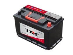 Oplaadbare 12V 75ah loodzuuraccu MF-auto voor in de auto Voor het starten van Auto/vrachtwagen/generator
