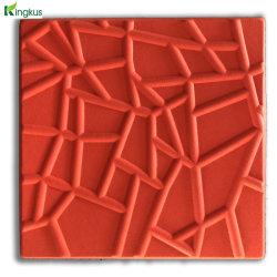 3D de brindilles en fibre de polyester revêtement mural Panneau acoustique