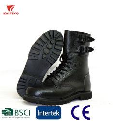 Normas militares e policiais francesas fivelas militar botas de couro Ranger