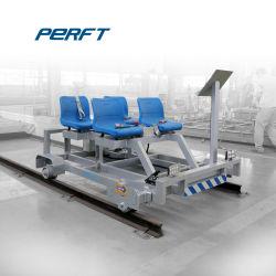 Le rail et la voie des inspections de maintenance voie chariot électrique