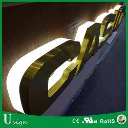Logo pubblicitario LED frontale personalizzato (LETTERA DEL CANALE LED)