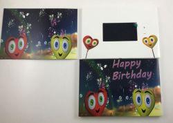 Partie des cadeaux de 5 pouces écran LCD Vidéo Brochure de l'impression