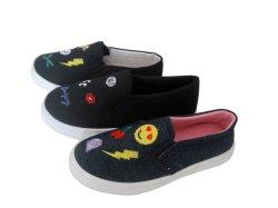 Escola de conforto de mídias físicas calçado de sola exterior em PVC de Casual Galpão de calçado para crianças