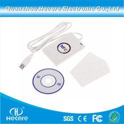 13.56MHz barato preço NFC escritor leitor USB de cartão inteligente
