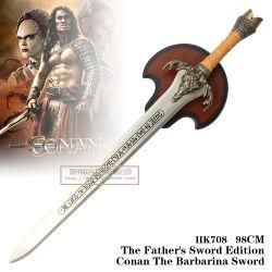 """""""O filme de Conan Espada"""" Movie Espadas Espada de filme 98cm HK708"""