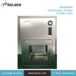 Edelstahl-Durchlauf-Kastencleanroom-Übergangsluken-Kasten