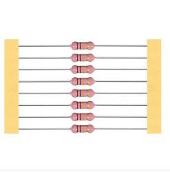 Resistori ad alta tensione della pellicola di vetro della glassa del metallo di rendimento elevato, tensione applicata