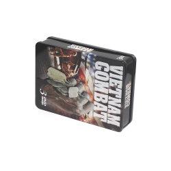 Gedruckter Metallzinn CD Kasten