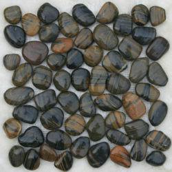 Pebble mosaico de pedra Stripe Pebble Mesh preços ladrilhos