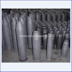Tubo refrattario del bruciatore del bruciatore Nozzle/SISIC del carburo di silicone