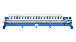 Cordões Sequin de alta velocidade de máquina de bordado retilínea de gravação com a toalha Rhinestone Hot-Fix Máquinas para Bordar