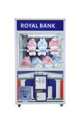 Royal Bank/regalo/vendita giocattolo/del premio/prezzo/vendita/divertimento/branca gru/della galleria/gru del giocattolo/macchina di /Claw/Crane/Game branca della galleria/gru della branca