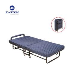 Houten Katoenen van het Hoofdeinde Extra Breed Bed die Bed vouwen