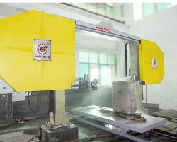 자동 단일 와이어 톱 블록 절단 및 오징용 기계