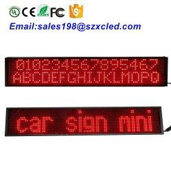LED ultra-léger Super Slim message émouvant ligne unique de votre téléphone mobile Bluetooth voiture 12 V de l'écran3.75-16Pbmld-Sp X96-SMD