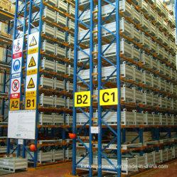 産業倉庫のための選択的なパレット記憶のラッキング