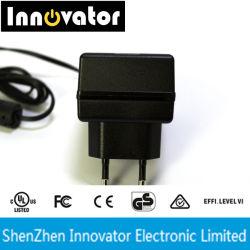 24Вт переменного тока DC Настенный дисплей типа адаптера питания сертифицированы UL черный цвет 1,2 м Кабель питания постоянного тока