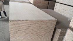 15mm Blockboard avec placage de bois de bouleau, okoume, Poloar Bingtangor, Blanc, blanchis le peuplier, crayon de cèdre, Keruing, pins, de chênes, ect.