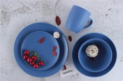 De hete Verkopende Fijne Waren van het Diner van het Voedsel van het Diner van het Porselein Vastgestelde Veilige die met Certificatie LFGB worden geplaatst