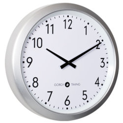 時間同期化のシステムアナログのクロック450
