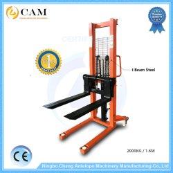 Faisceau 2.0ton 2000kg I Manuel de la main empileur hydraulique en acier