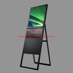 Neue Outdoor Indoor Portable Folding Network WiFi Werbung Video Player HD Digital Signage LED-LCD-Display für Restaurant/Hotel/Promotion