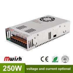 250W 5V/12V/24V/48V источник питания для светодиодной подсветки дисплея фрагмента AC200-240V бесплатная доставка