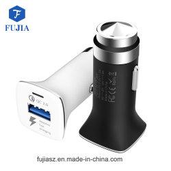 보편적인 전화 빠른 전기 이중 포트 2.1A USB 차 충전기 차 이동할 수 있는 충전기 자동차 배터리 충전기 접합기