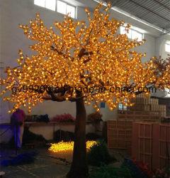 Светодиод искусственного кленового дерева лампа