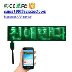 P LEIDENE van 2.5-12 X van het 48 G de MiniScherm van het Teken Harde Controle van Bluetooth APP van de Raad van het Bericht van de PCB- Raad Rolling via Ios of Androïde Systeem