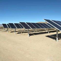 Galvanização a quente único eixo solar Tracker