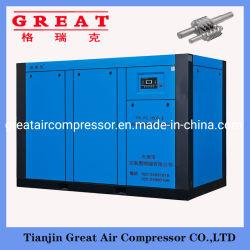 안정적인 고성능 5.5-355kw/0.5-50m3/min 절전형 고정 속도 직접 구동 AC 전원 산업용 로터리 스크류 유형 공기 압축기 (CE 및 ISO 포함)