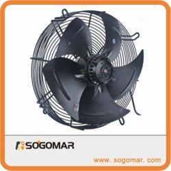 Ventilateur axial de l'AFD350 AC avec du métal rotors pour le refroidissement industriel ECHAPPEMENT