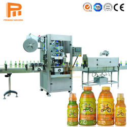 La stabilité à haute vitesse automatique de bouteille en plastique PVC manchon rétractable d'étiquetage de la machine / autocollant étiquette adhésive de la machine pour le PET usine d'eau de bouteilles en verre