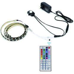 Светодиодная подсветка RGB для комплекта освещения зеркала в противосолнечном козырьке макияж Трюмо установлен в левом противосолнечном козырьке