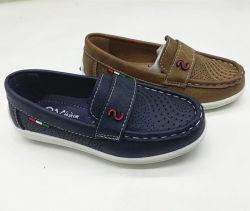[2020كيدس] طفلة [ببي بوي] ليّنة جلد وقت فراغ عرضيّ درز أحذية