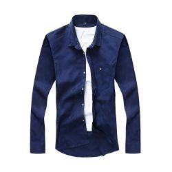 изготовленный на заказ<br/> хорошего качества бизнес длинной втулки рубашку для мужчины