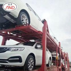 Professional pequeño marco de la utilidad de tándem Lowbed galvanizada pesado transporte en automóvil del transportista operador camión de transporte viajar Transporter Box semi remolque