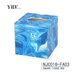 Hôtel KTV acrylique personnalisée serviette de papier carton Paper Box Boîte de tissus de gros