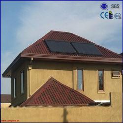 Plana de alta eficiencia de colectores solares Heat Pipe