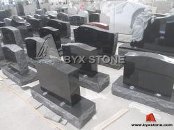 Американские черные памятник/Headstones гранита с высекать ангела