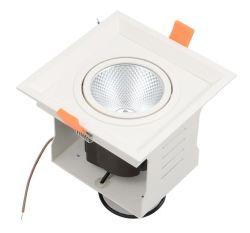 穂軸正方形LEDのグリルライトによって引込められるLEDの天井のグリルDownlight